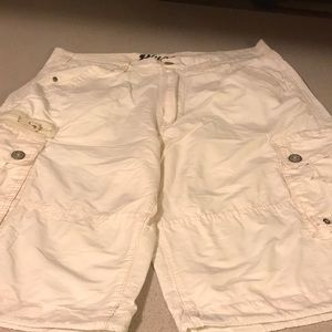 PLUGG 34 waist khaki cargo short men